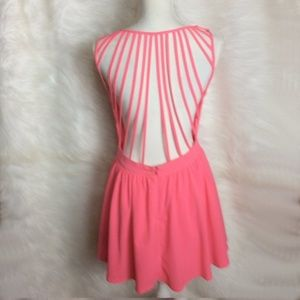 Tea n Cup cage back dress Size M